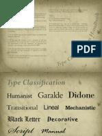 Type Classificaype-classification-ebooktion eBook