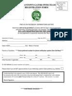 Gators Registration 2014
