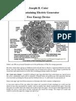 A Self-Sustaining Electric Generator - Orgone Flux Capacitor
