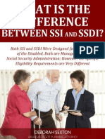 What Is the Difference Between SSI and SSDI?