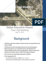 Dallas Executive Airport Town Hall Presentation