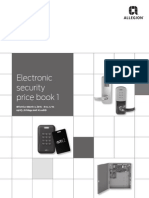 Schlage Electronics Price Book 2014- 4/14 Update