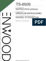 TS-850S manual-intrucciones-español