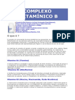COMPLEXO VITAMÍNICO B