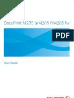 DocuPrint M205 Series User Guide English