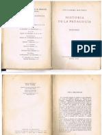 Historia de la pedagogía - Guillermo Dilthey
