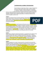 BASES PARA LA INTRODUCCIÓN A LA QUÍMICA Y FÍSICA BIOLÓGICA