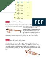 Workout 3- Stomach
