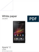 Whitepaper en c2305 Xperia c