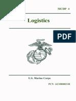 MCDP4, Logistics