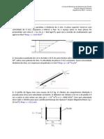 1ª Lista de Exercícios - MEC-FLU FARO 2013-A