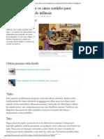Como ensinar sobre os cinco sentidos para crianças do jardim de infância _ eHow Brasil