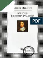 Spinoza, Deleuze