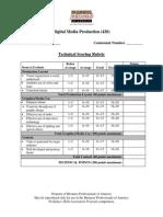 420 digital media production technical rubric 2014