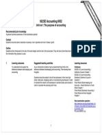 IGCSE Accounting 0452