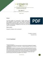 DOIS OLHARES (no modelo de formatação com mini-currículo)