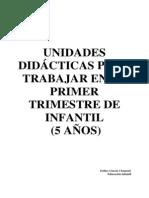 8Unidades Didácticas (Primer Trimestre 5 Años)