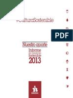 Informe de Desarrollo Sostenible Fundación Bavaria