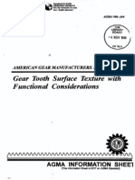 AGMA_Gear Tooth Surface Texture With Fuctnional Considerations