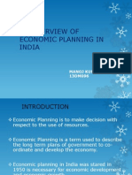 Overview of Economic Planning in India
