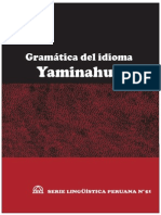 «Gramática del idioma yaminahua»