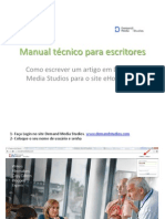 Manual técnico descritivo para escritores