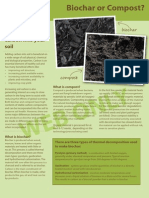 Biochar or Compost Web