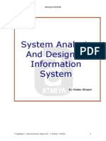 Software Analysis & Design of Information System