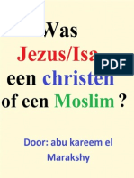 Was Jezus/Isa een christen of een moslim ?
