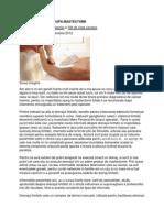 Drenajul Limfatic in Mastectomii