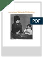 Montessori Method of Education by Sharanalaya