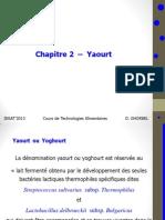 Chapitre 2 -Yaourt
