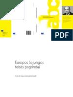 Knyga Europos Sąjungos teisės pagrindai