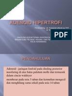 Presentasi Hipertrofi Adenoid Ppt