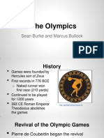 olympics presentation- english 1102