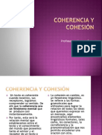 Coherencia y Cohesion Ppt