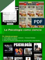 1. Psicología como ciencia