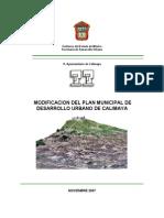 Plan de Desarrollo Calimaya