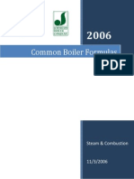 JBC Common Boiler Formulas