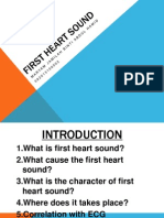 First Heart Sound MJ