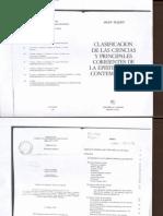Piaget_Clasificación de las ciencias y principales corriente