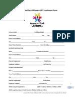 around the clock childcare ltd enrollment form-12rie