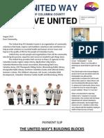 united way 2014 campaign pledge letter
