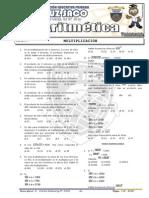 Aritmetica - 1er Año  - II  Bimestre - 2013