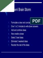 The Perri Brain Storm