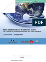 Cluster No. 8 Diseño e implementacion modelo cluster