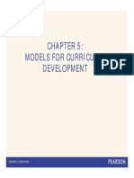 Models Curriculum