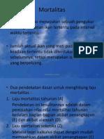 Dinamika Populasi JPK UNSOED.7 (Mortalitas)