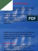 Dinamika Populasi JPK UNSOED.8 (Selektivitas Alat Tangkap)