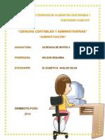 Administracion y Control de Personal